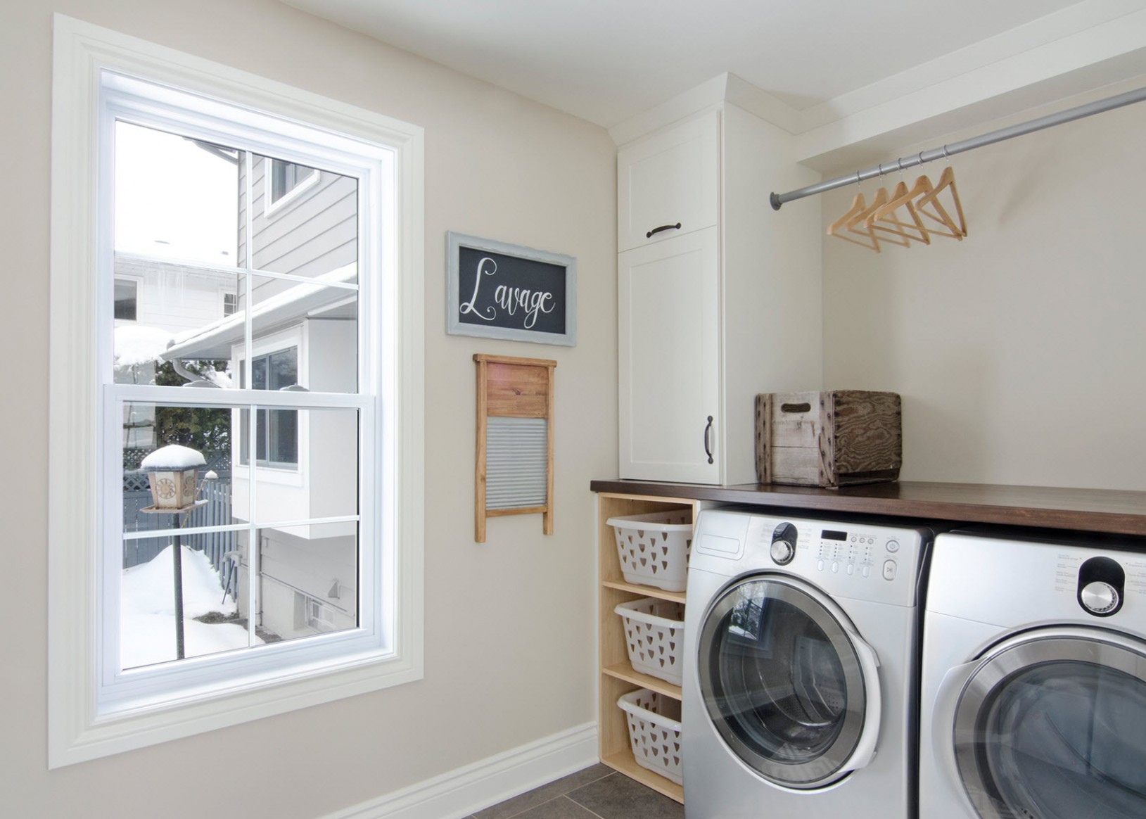 Tips for Reorganizing the Laundry Room - Carrie Davies  - Laundry Room Guest Bedroom