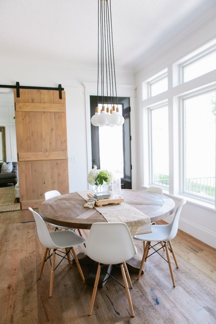 Top 10 Modern Round Dining Tables  Round dining table modern  - Dining Room Ideas Round Table
