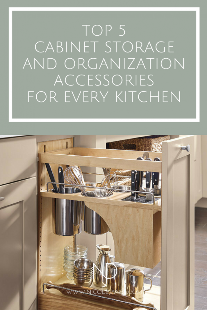 Top 12 Cabinet Storage and Organization Accessories Every Kitchen  - Kitchen Cabinet Accessories That Are Popular