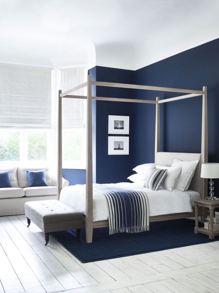 Top 12 Cool Navy And White Bedroom Design Ideas - Global Perspective - Bedroom Ideas Navy And White