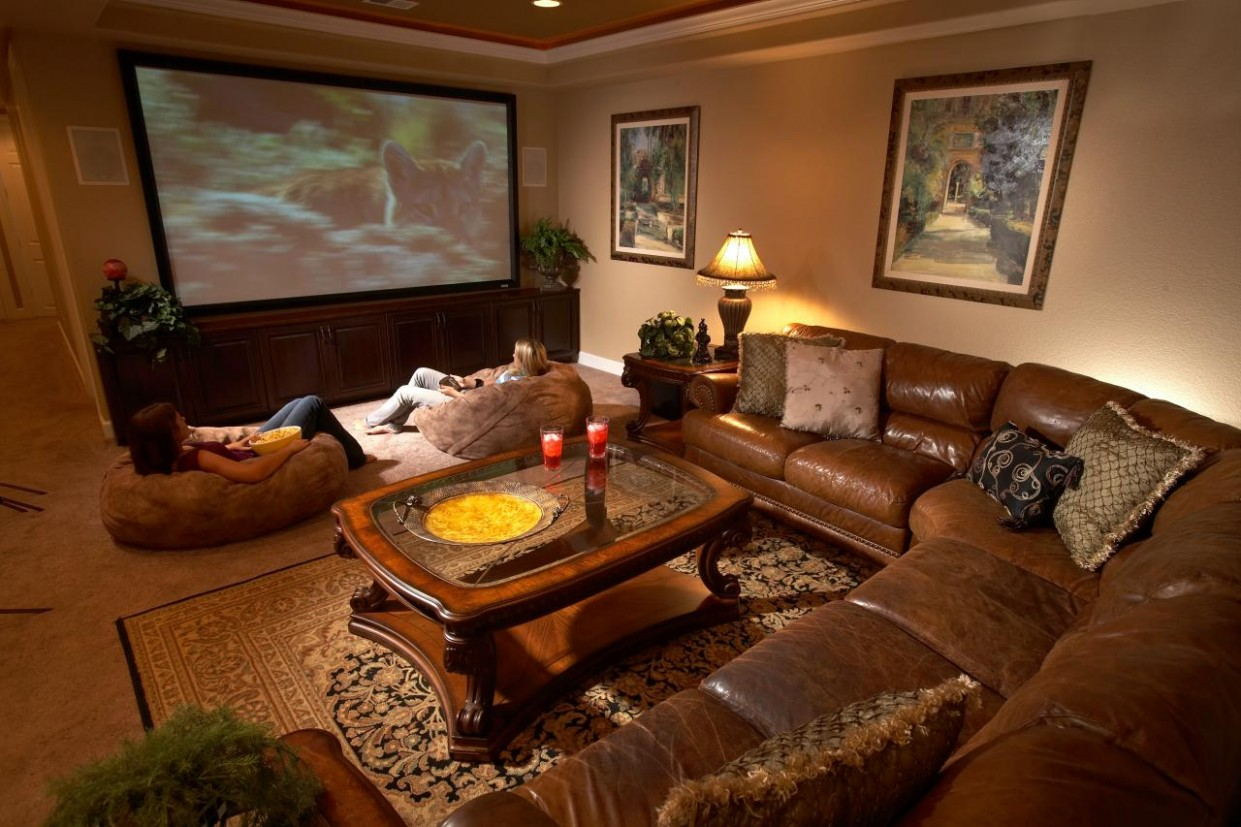 Top Six Basement Spaces  HGTV - Home Office Ideas For Basement