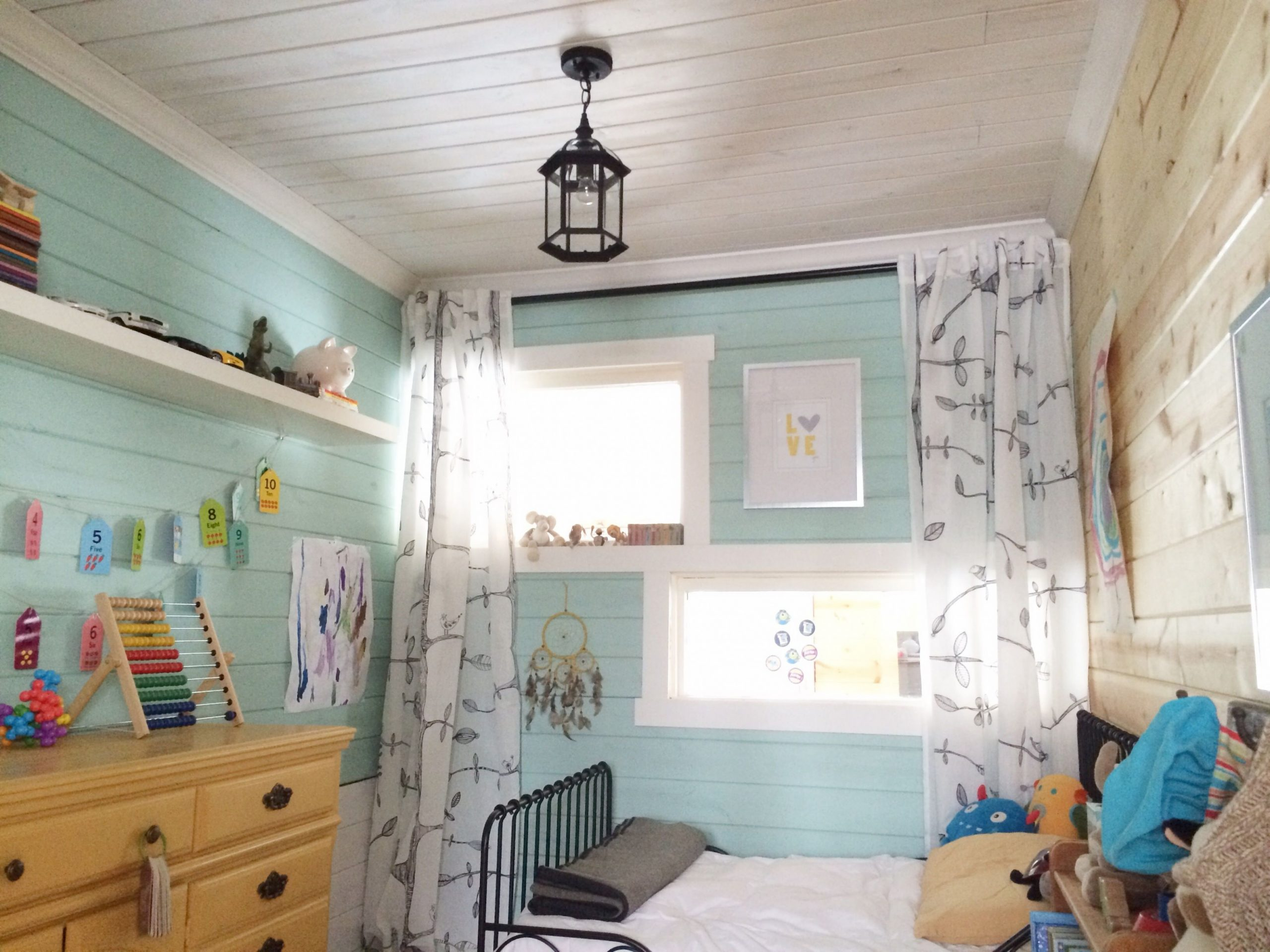 Turning a Small Laundry Room Into a Bedroom: Part 12 Before & After  - Laundry Room Guest Bedroom