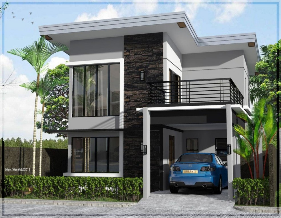 Two Storey Asian House at Antique  Two story house design, 8  - Apartment Design Two Storey