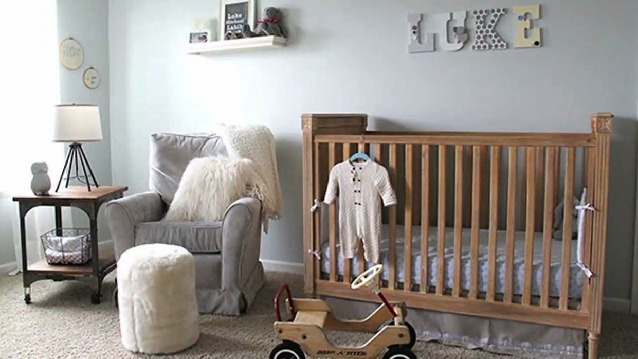Video room tour} Classic, gender neutral nursery video tour  - Baby Room Video