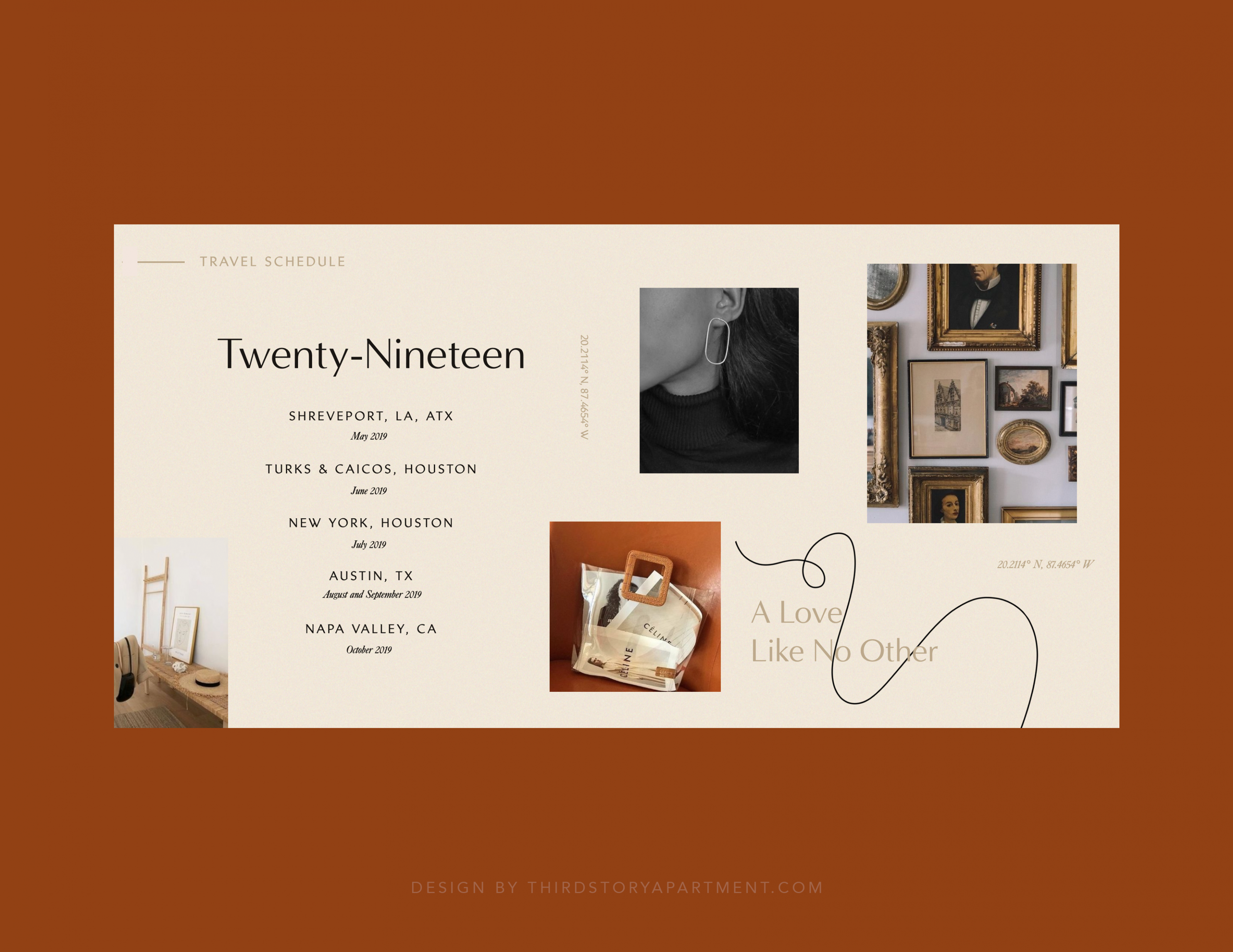 WEBSITE DESIGN— by Lindsey Eryn of Third Story Apartment in 8  - Apartment Website Design Inspiration