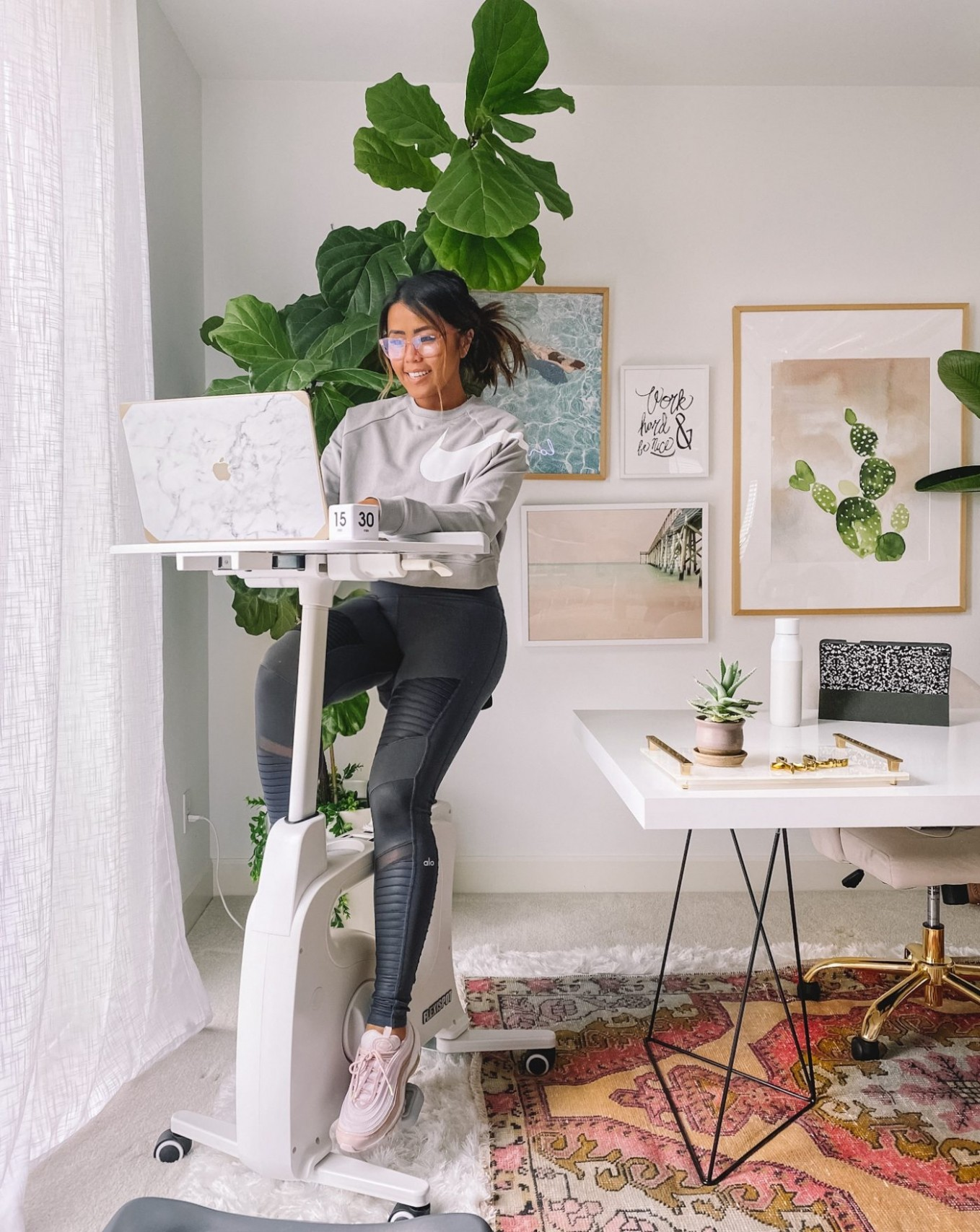 WFH: Home Office Setup Ideas  Gypsy Tan - Home Office Ideas Small