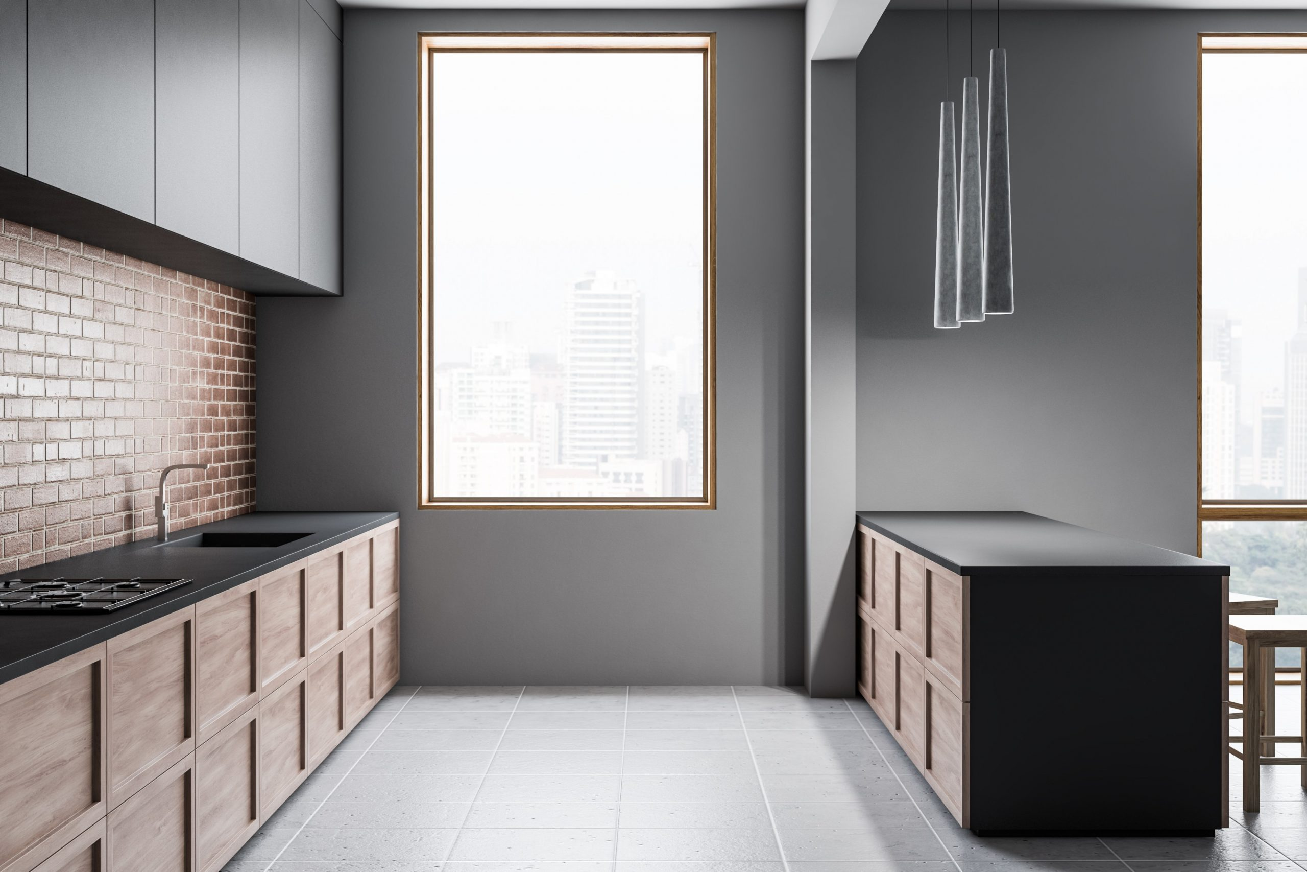 What Are the Acceptable Measurements From a Kitchen Counter Top to  - Standard Height For Kitchen Cabinets Above Counter