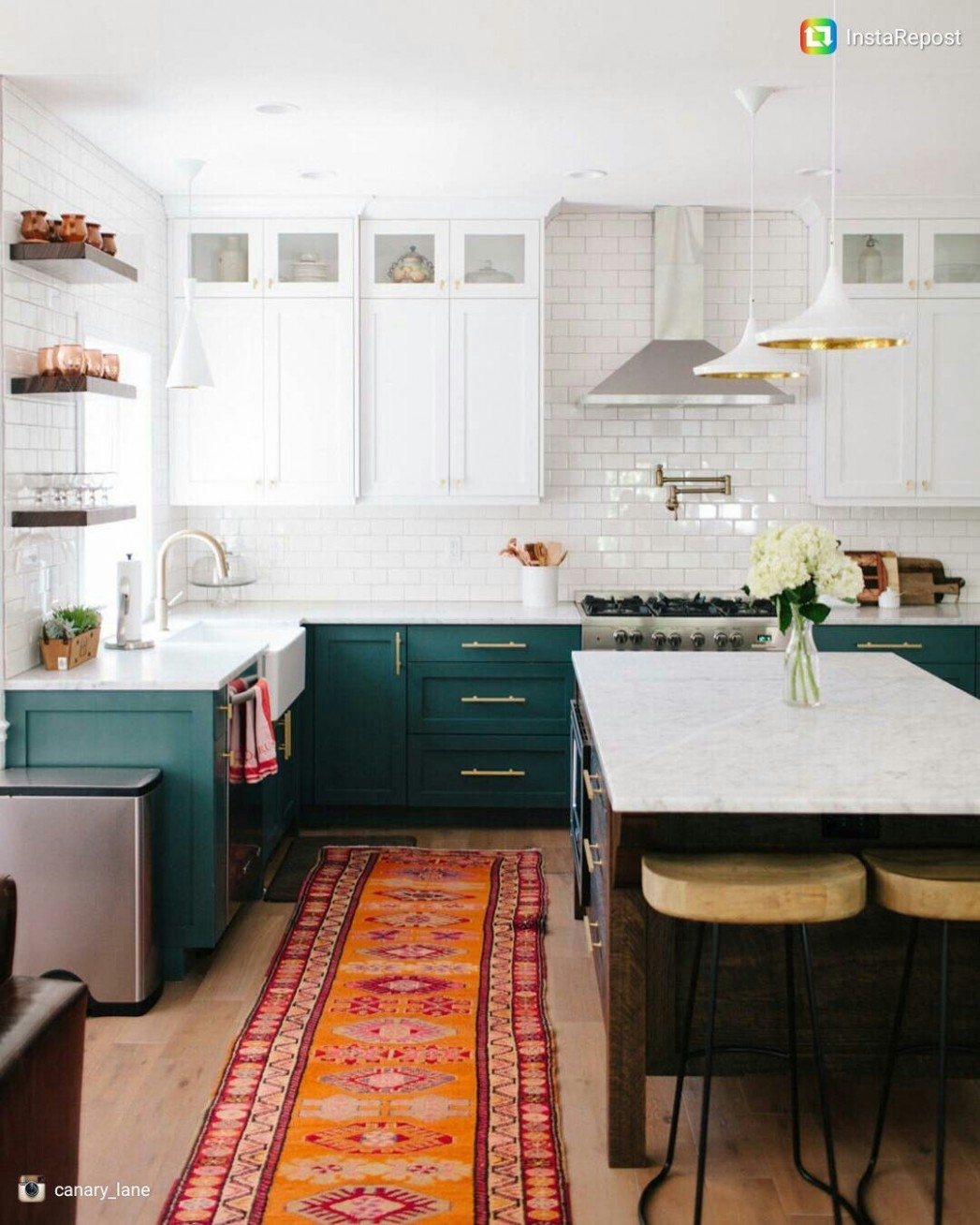 White upper cabinets, dark teal lower cabinets, small cabinets  - Kitchen Designs With White Upper Cabinets And Dark Lower Cabinets