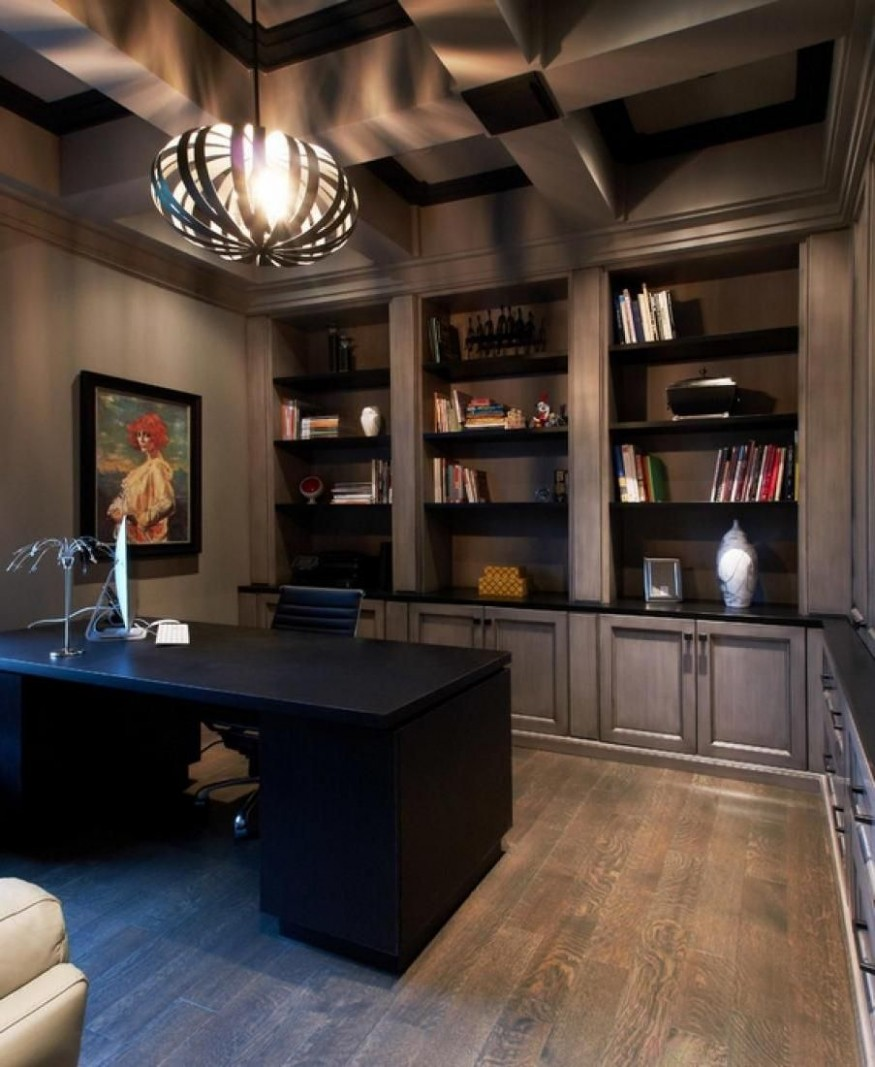 Wtsenates  Enchanting Male Office Design in collection #12 - Home Office Ideas Male