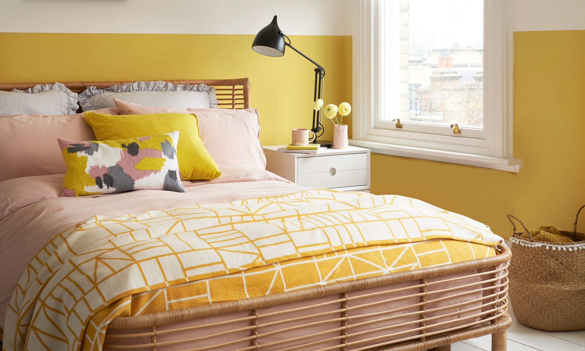 Yellow bedroom ideas for sunny mornings and sweet dreams - Bedroom Ideas Yellow And Blue