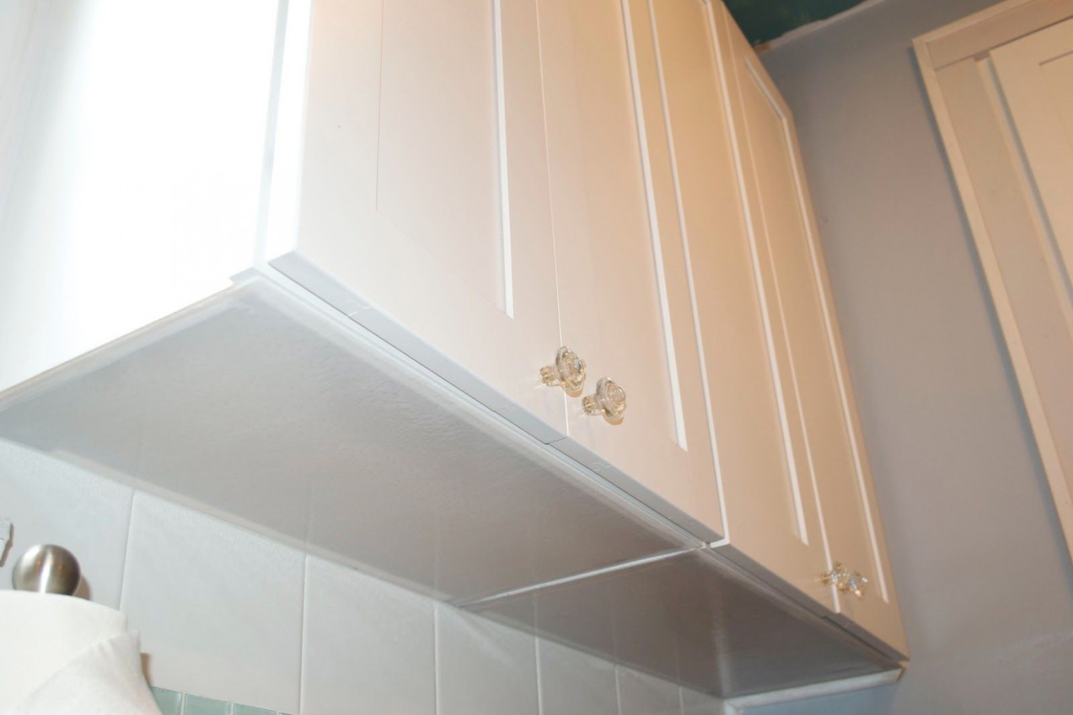 You may recall that we added a lot of accent lighting to our  - How To Finish The Bottom Of Upper Kitchen Cabinets