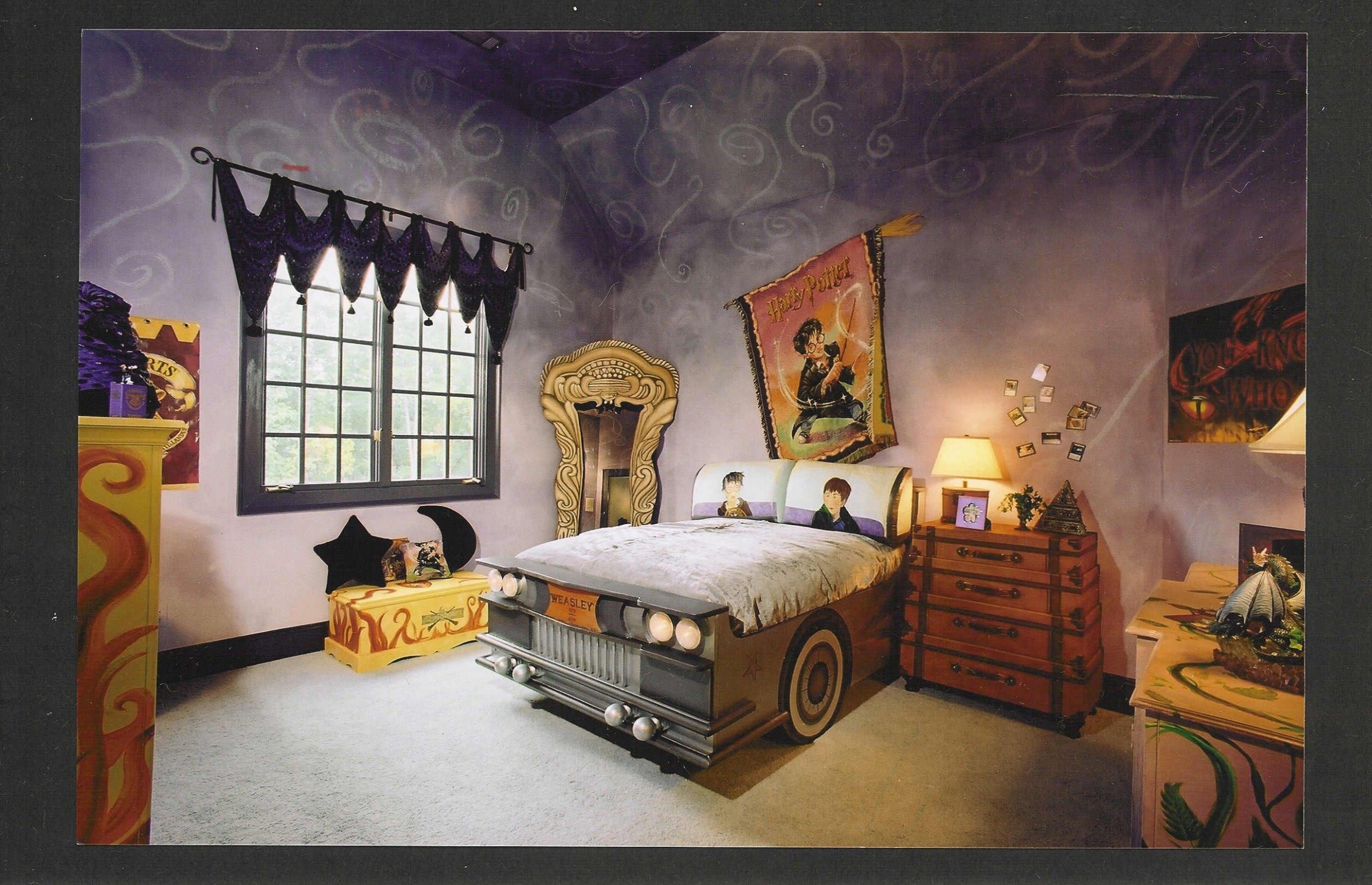 10 Amazing Loft Ideas - Beds and Playrooms - Design Dazzle  Harry  - Bedroom Ideas Harry Potter