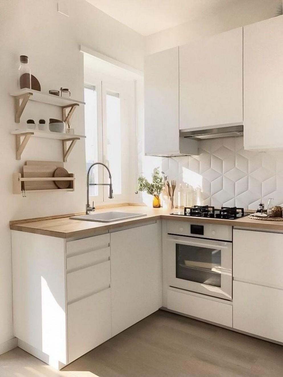 10+ Amazing Small Apartment Kitchen Ideas in 10  Small  - Apartment Kitchen Design