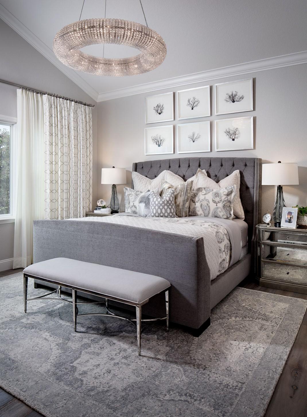 10 Beautiful Gray Bedroom Pictures & Ideas - November, 10  Houzz - Bedroom Ideas Grey