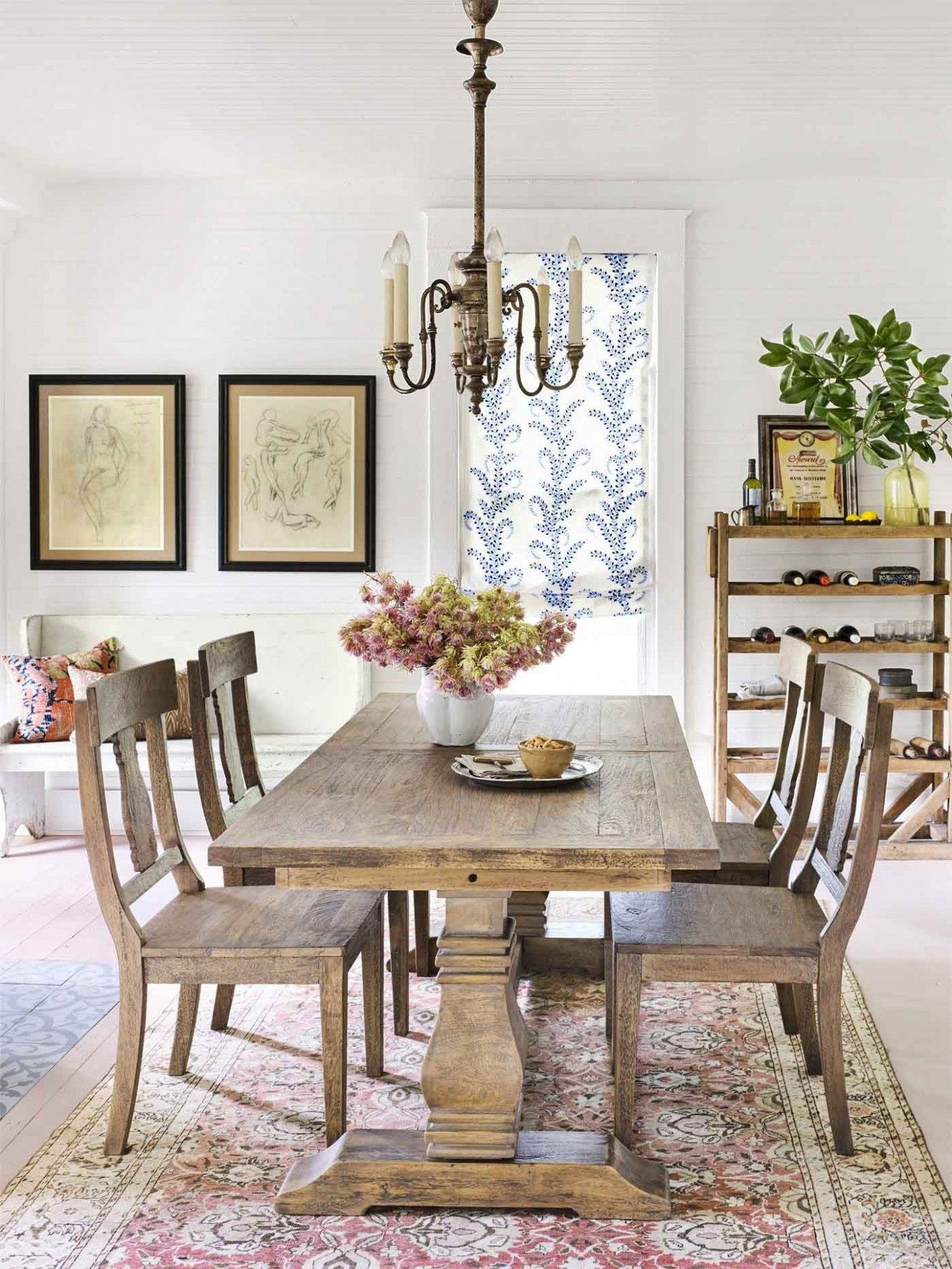 10 Best Dining Room Decorating Ideas - Country Dining Room Decor - Dining Room Ideas Oak Table