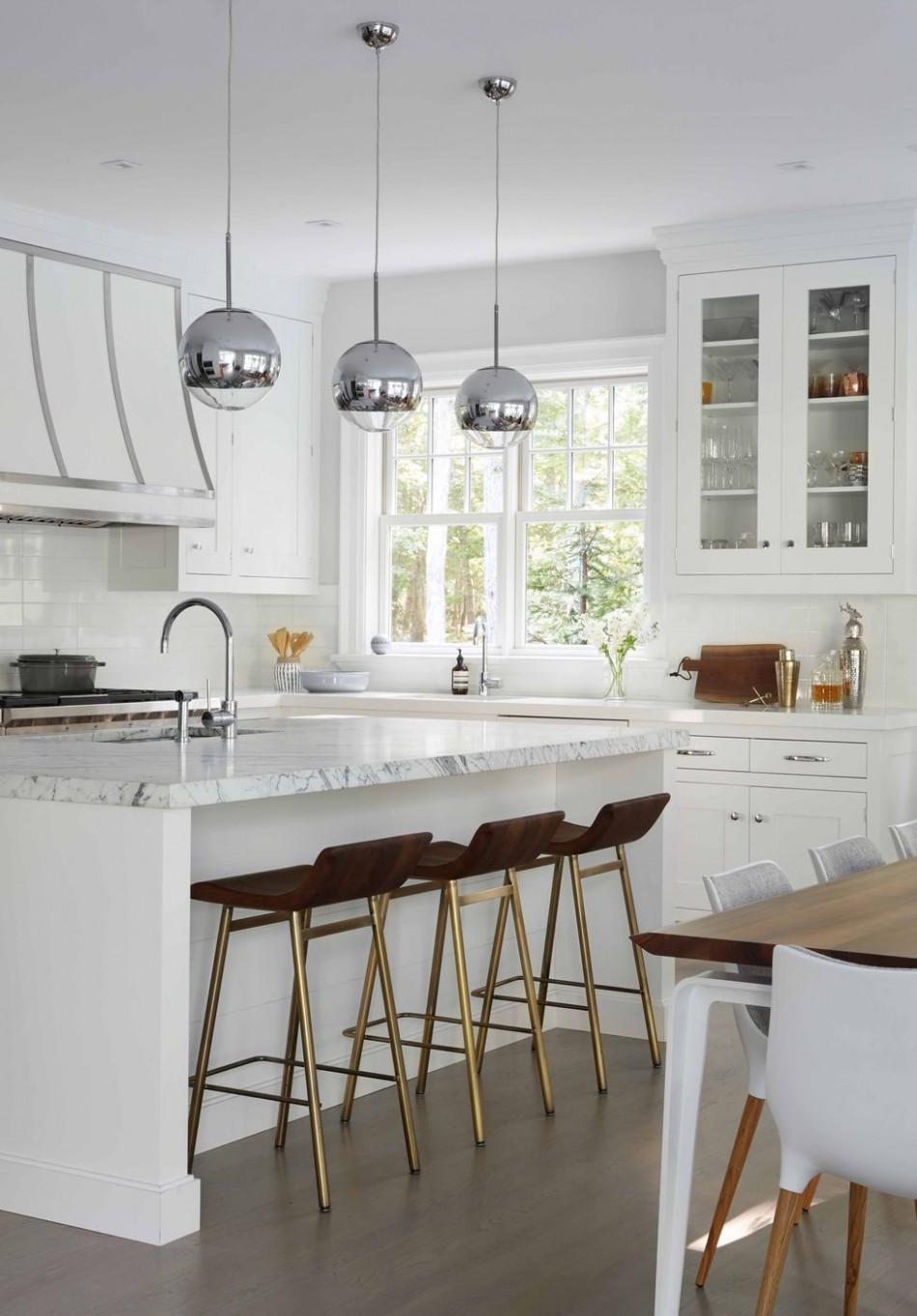 10 Best White Kitchen Ideas - Photos of Modern White Kitchen Designs - Modern White Kitchen Cabinets Photos