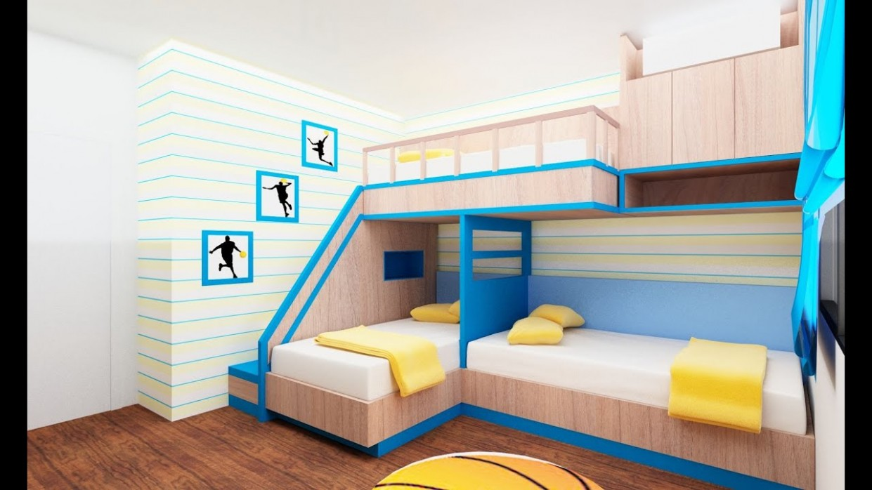 10 Bunk Bed Idea for Modern Bedroom - Room Ideas - Bedroom Ideas Double Deck