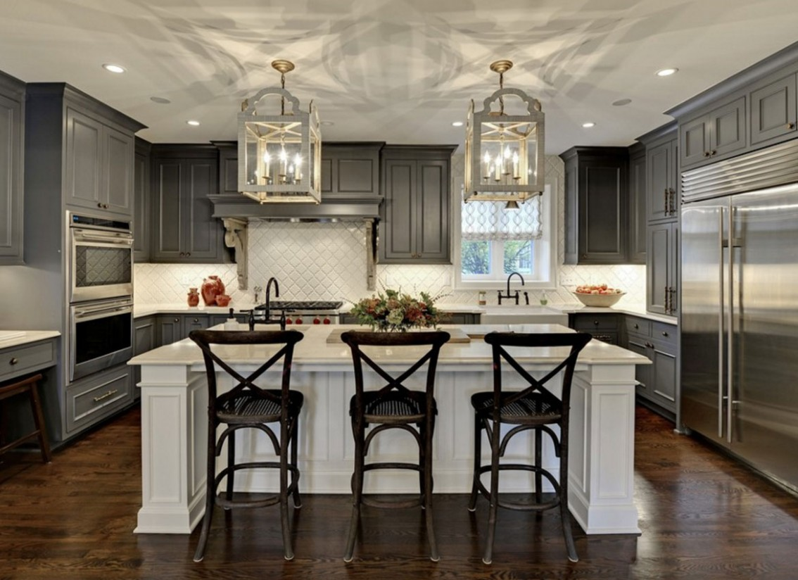 10 Classy Projects With Dark Kitchen Cabinets  Home Remodeling  - What Color Kitchen Cabinets With Dark Hardwood Floors