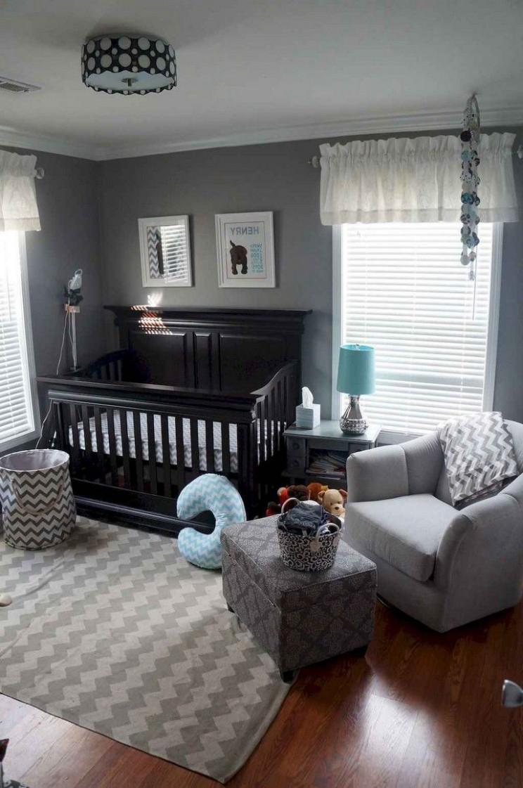 10+ Cozy Cute Baby Nursery Ideas On A Budget #babynursery  - Baby Room On A Budget