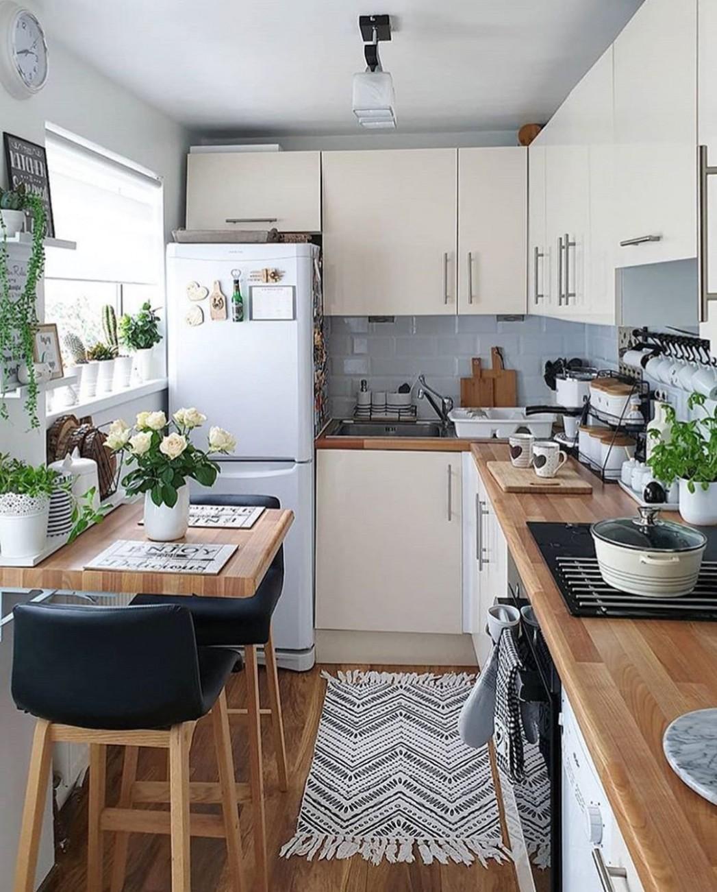 10 Creative Small Kitchen Design And Organization Ideas  Small  - Apartment Kitchen Design