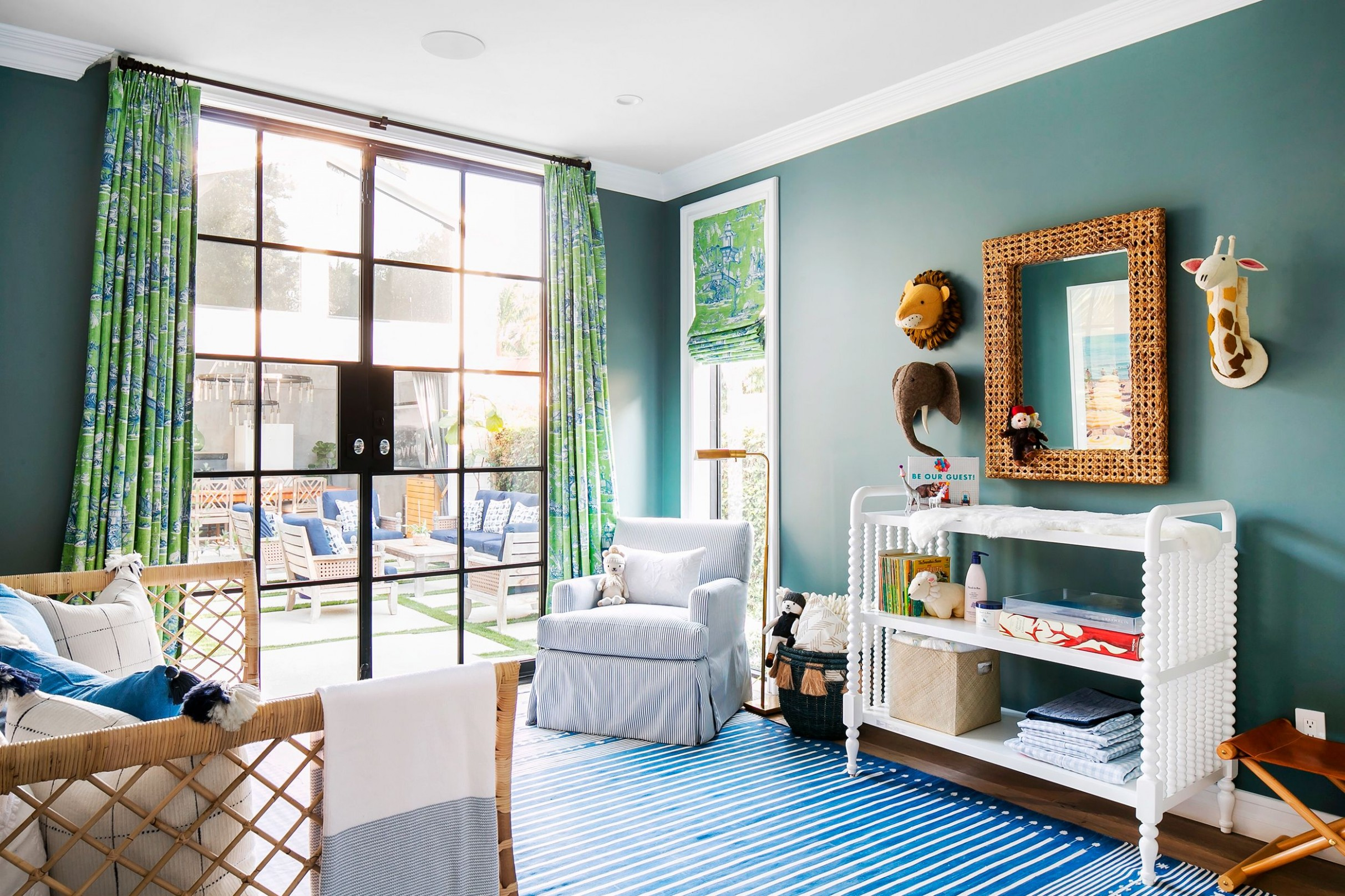 10 Cute Nursery Decorating Ideas - Baby Room Designs for Chic Parents - Baby Room Themes