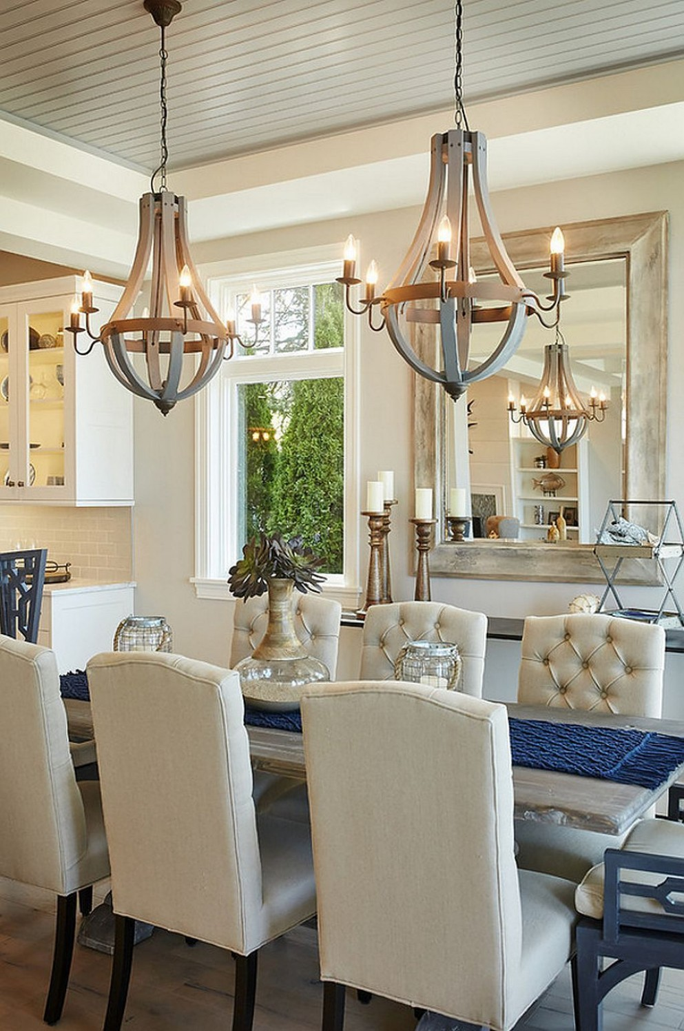 10 Dining Room Arrangement Ideas 10  Dining room light fixtures  - Dining Room Arrangement Ideas