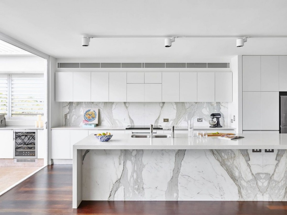 10 Gorgeous Grey and White Kitchens that Get Their Mix Right  - Modern White Kitchen Cabinets Photos