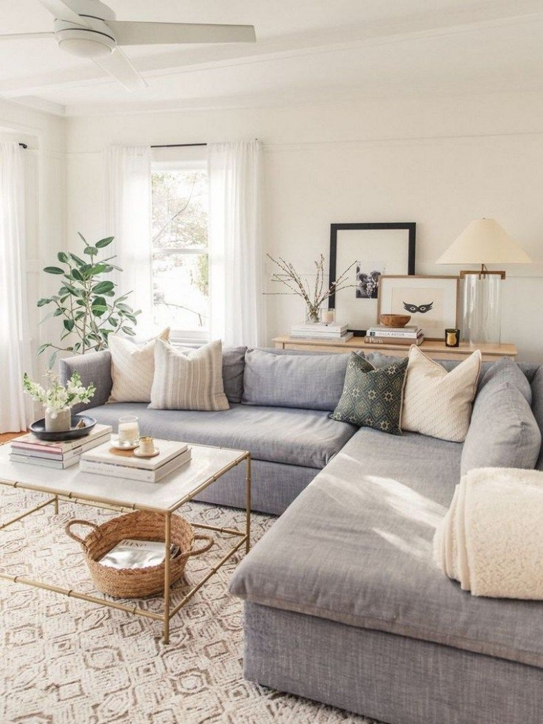 10 Grey Small Living Room Apartment Designs to Look Amazing  - Apartment Design Living Room