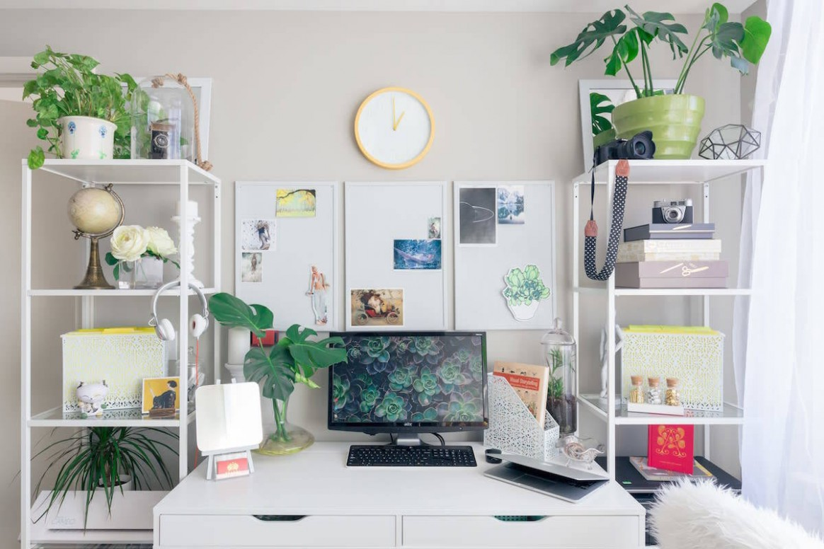 10 Home Office Ideas To Help You Work From Home Like A Boss - Home Office Table Ideas