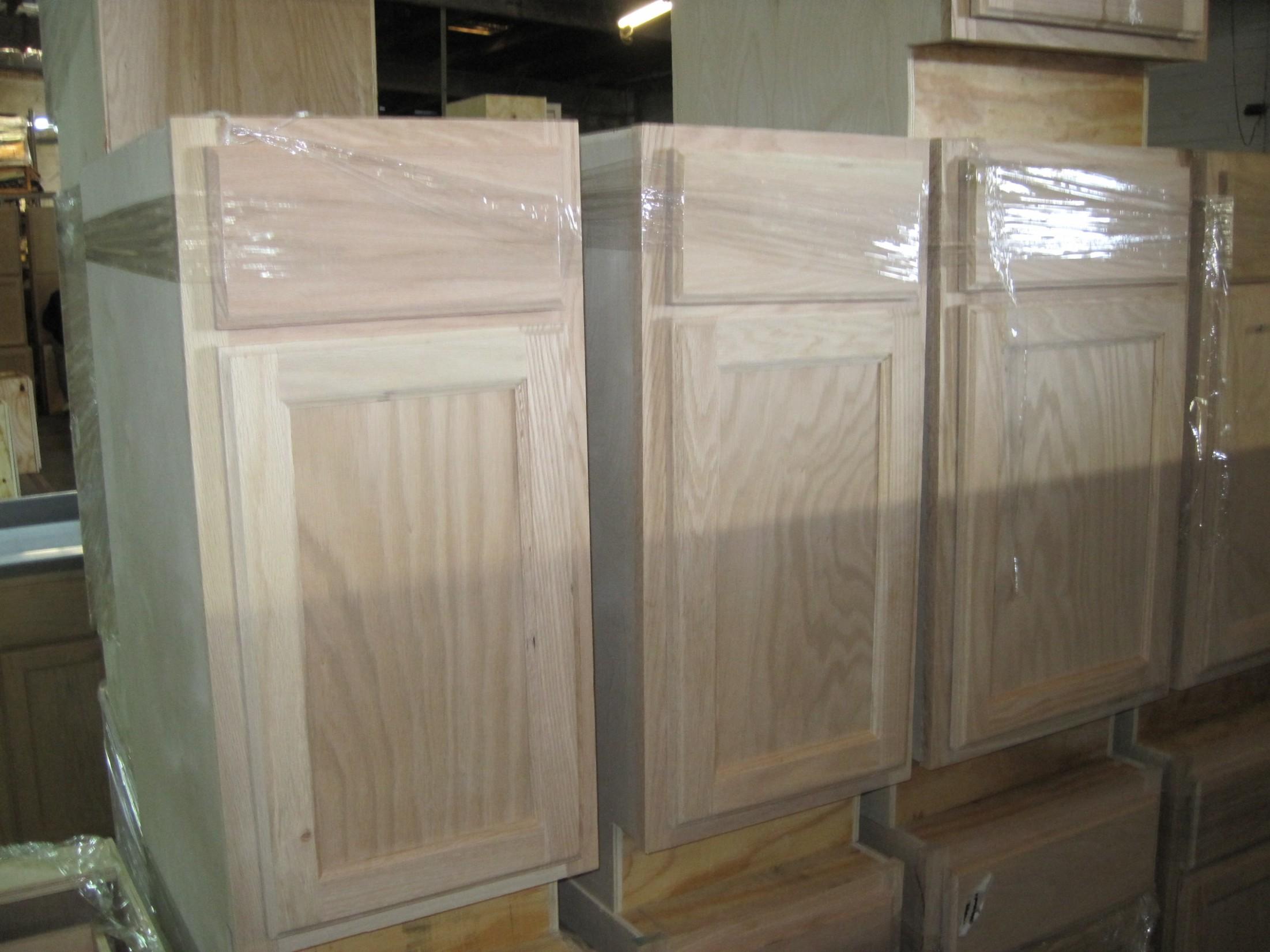 "10"" Inch Oak Base Wholesale Kitchen Cabinets in North GA Georgia - 21 Inch Deep Kitchen Base Cabinet"