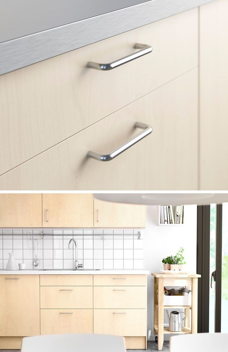 10 Kitchen Cabinet Hardware Ideas For Your Home  Kitchen cabinet  - Kitchen Cabinet Handle Design
