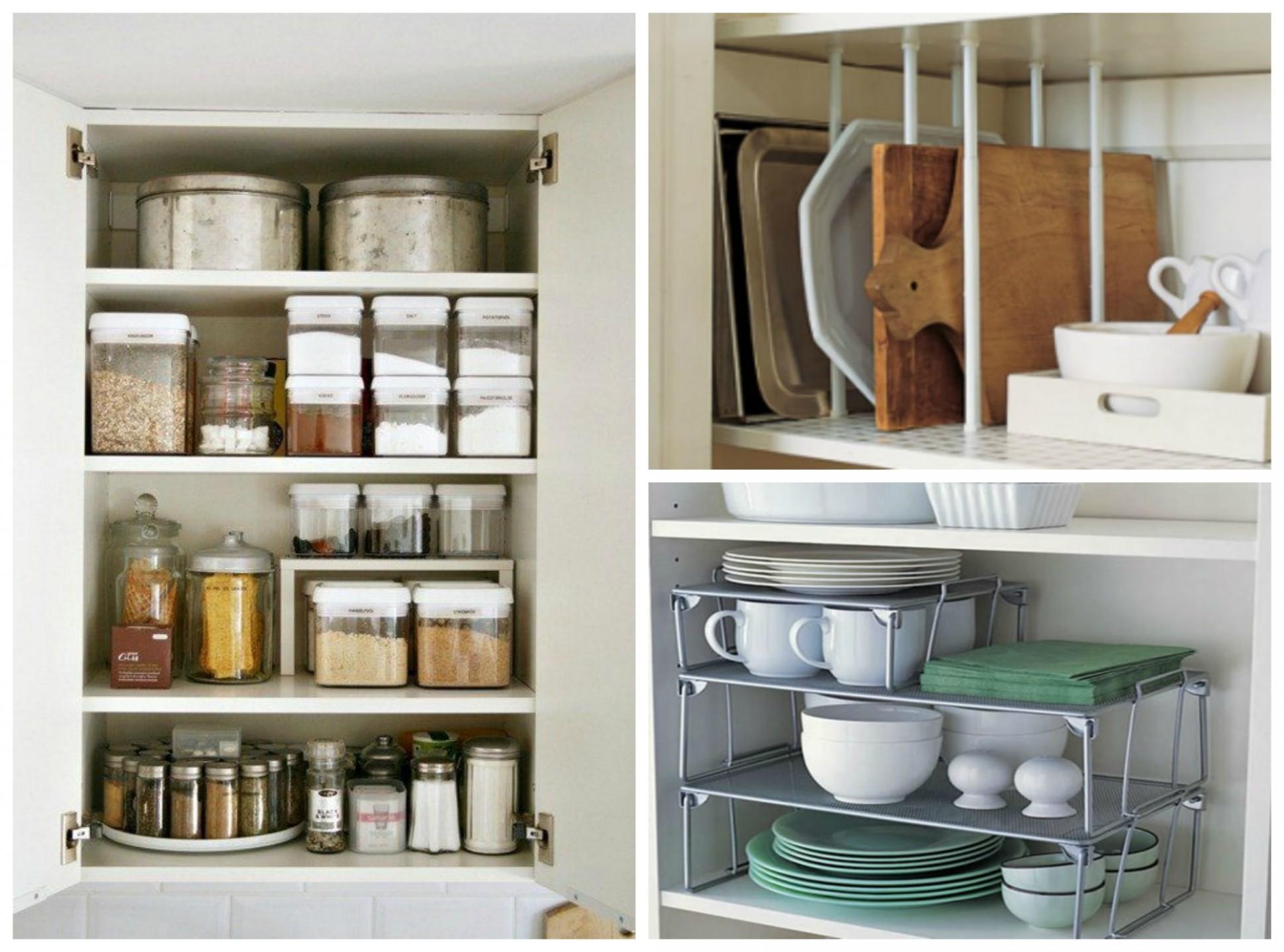 10 Kitchen Cabinet Organization Ideas That are Beyond Easy - Help Me Organize My Kitchen Cabinets
