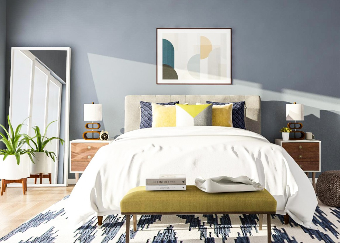 10 Mid-Century Modern Bedroom Ideas to Try in Your Space - Bedroom Ideas Vintage Modern