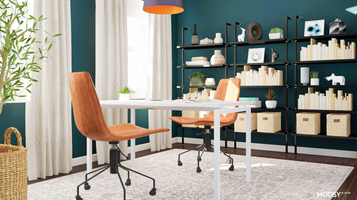 10 Modern Home Office Design Ideas  Modsy Blog - Home Office Ideas Contemporary