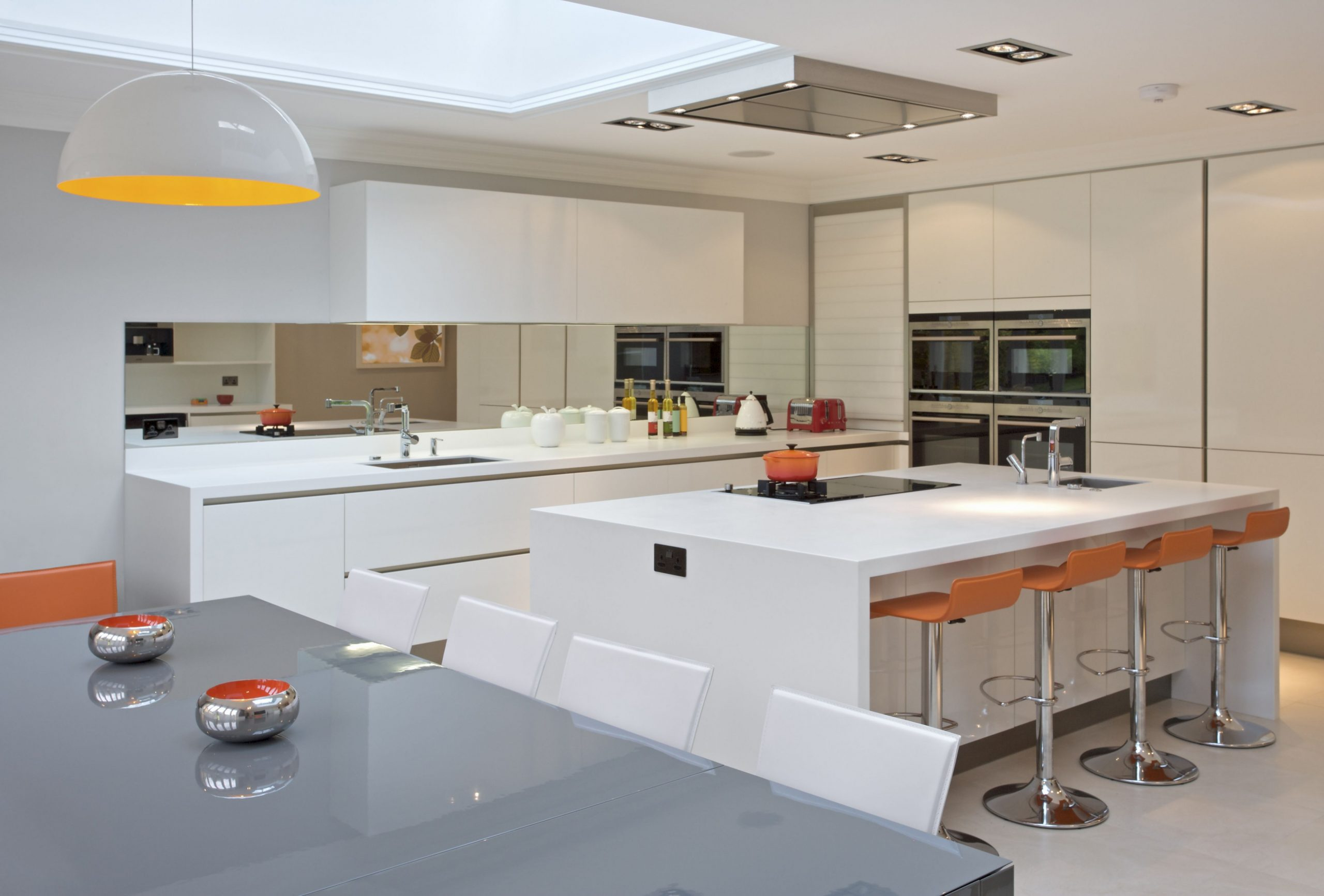 10 Modern White Kitchens - Modern White Kitchen Cabinets Photos