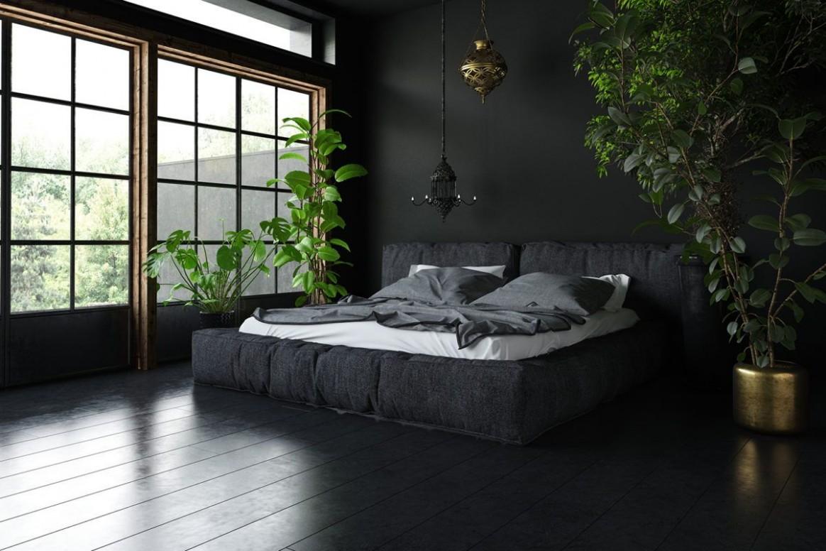 10 reference of dark floor bedroom design in 10  Bedroom decor  - Bedroom Ideas Dark