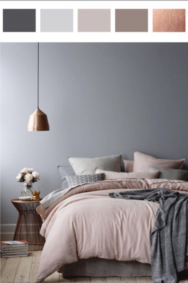 10 Shades of Grey in the Bedroom  Home bedroom, Dreamy bedrooms  - Bedroom Ideas Rose Gold And Grey