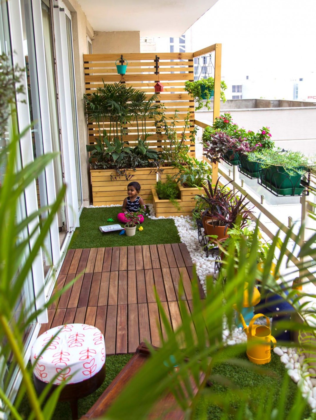 10 Smart Balcony Garden Ideas That are Awesome  Apartment balcony  - Apartment Yard Design