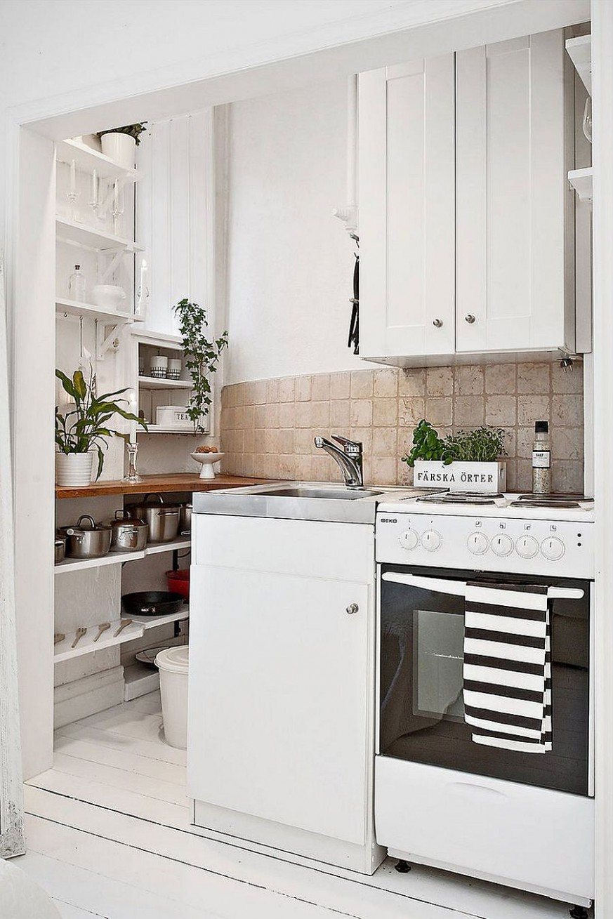 10 Tiny Apartment Kitchens that Excel at Maximizing Small Spaces - Apartment Kitchen Design