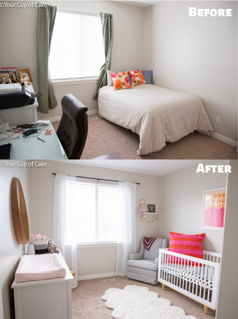 10 Tips on How to Decorate a Nursery on a Budget - Your Cup of Cake - Baby Room On A Budget