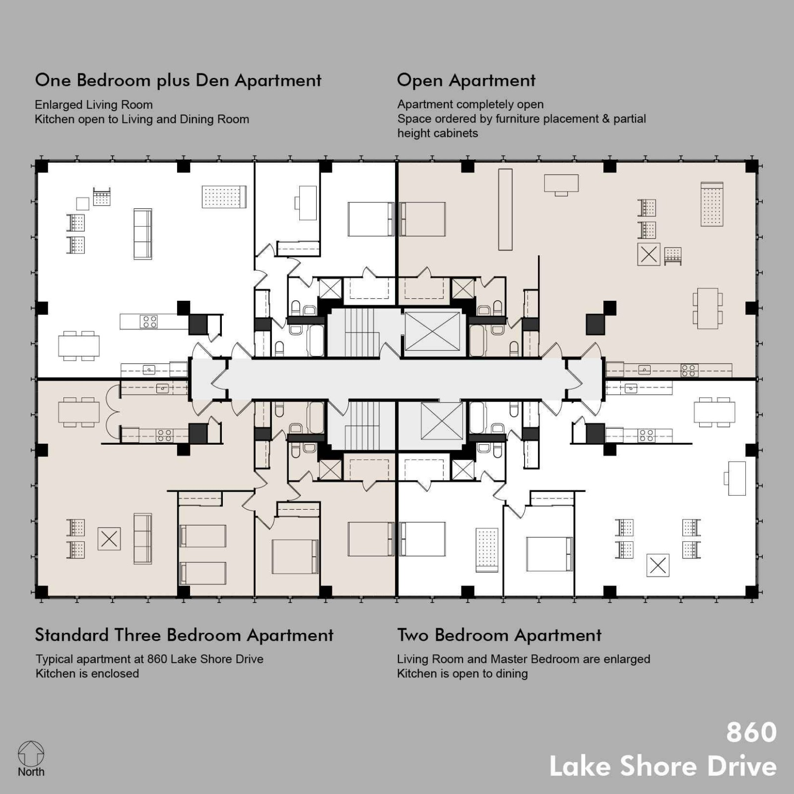 10 Unit Apartment Building Plans and Modern Apartment Design Plans  - Apartment Architecture Design Plans