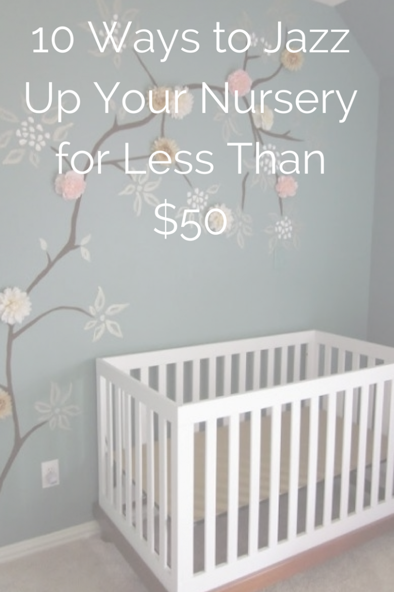 10 Ways to DIY Your Nursery on a Budget  Budget nursery, Baby  - Baby Room On A Budget