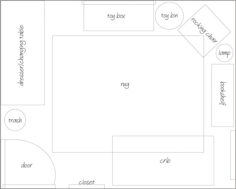 10 x 10 nursery layout - Google Search  Nursery layout, Nursery  - Baby Room Layout