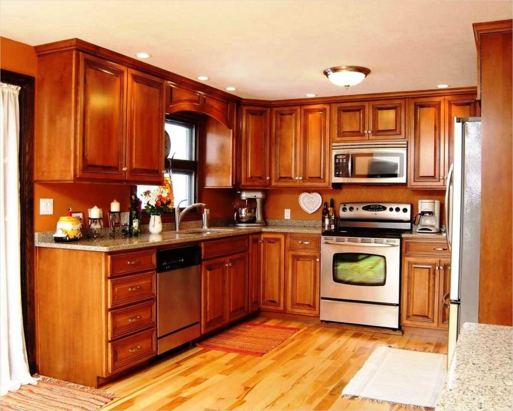 11 Attractive Kitchen with Maple Cabinets Color Ideas - Gongetech - What Color To Paint Kitchen Walls With Maple Cabinets