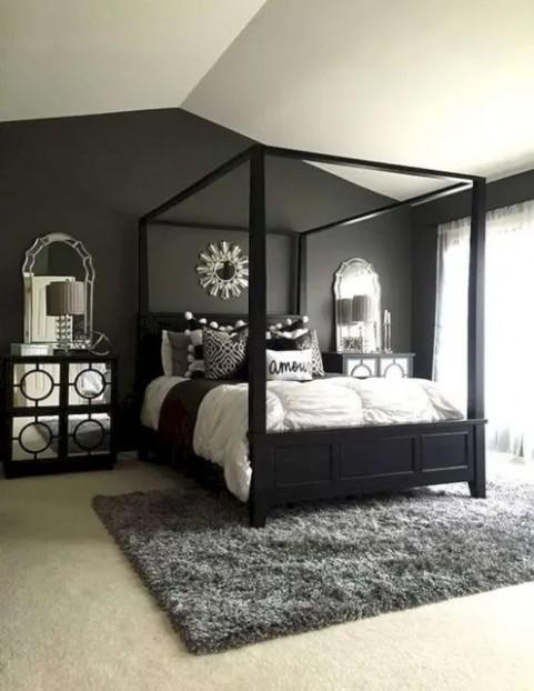 11 Awesome Black Furniture Bedroom Ideas - Bedroom Ideas With Black Furniture