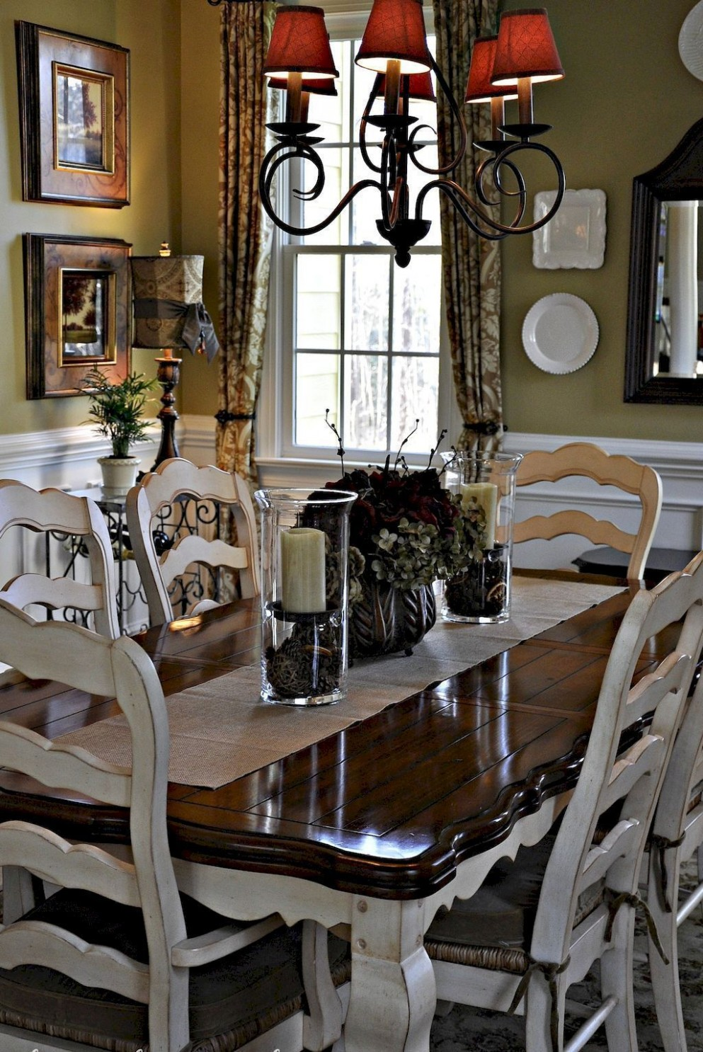 11 Awesome Modern Farmhouse Dining Room Design Ideas  French  - Dining Room Ideas Country