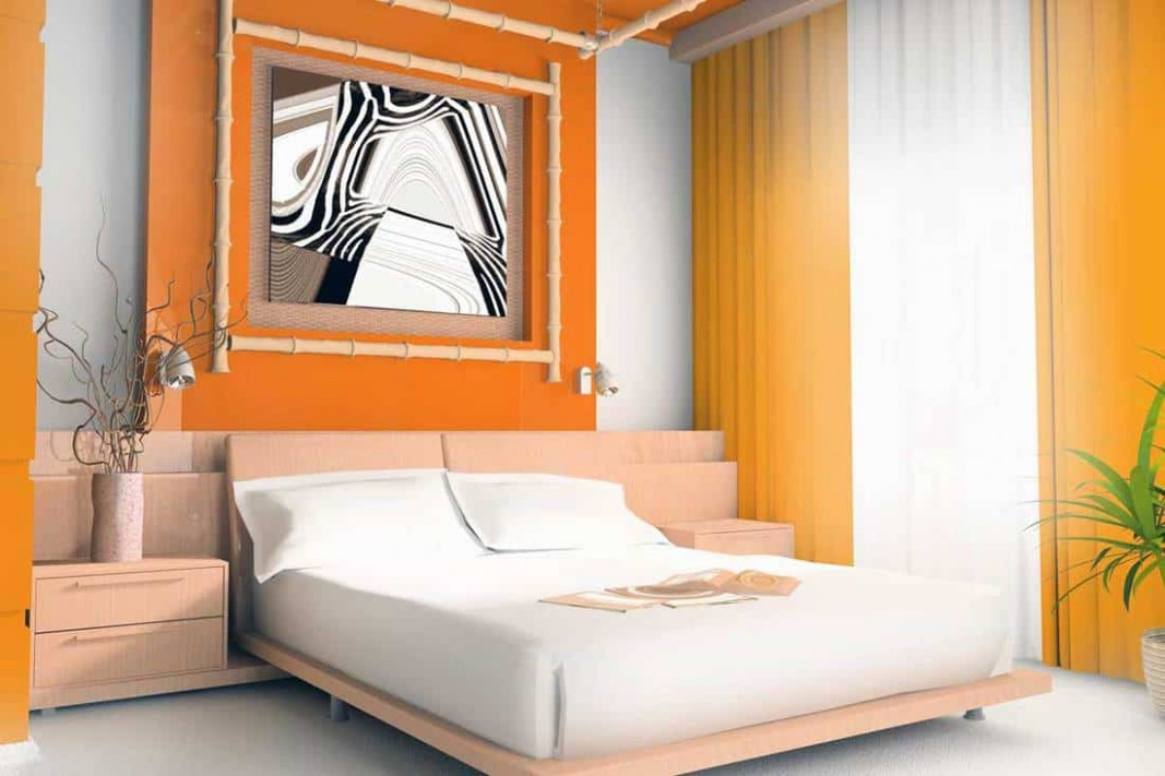 11+ Awesome Orange Bedroom Ideas That Will Inspire You - Home  - Bedroom Ideas Orange