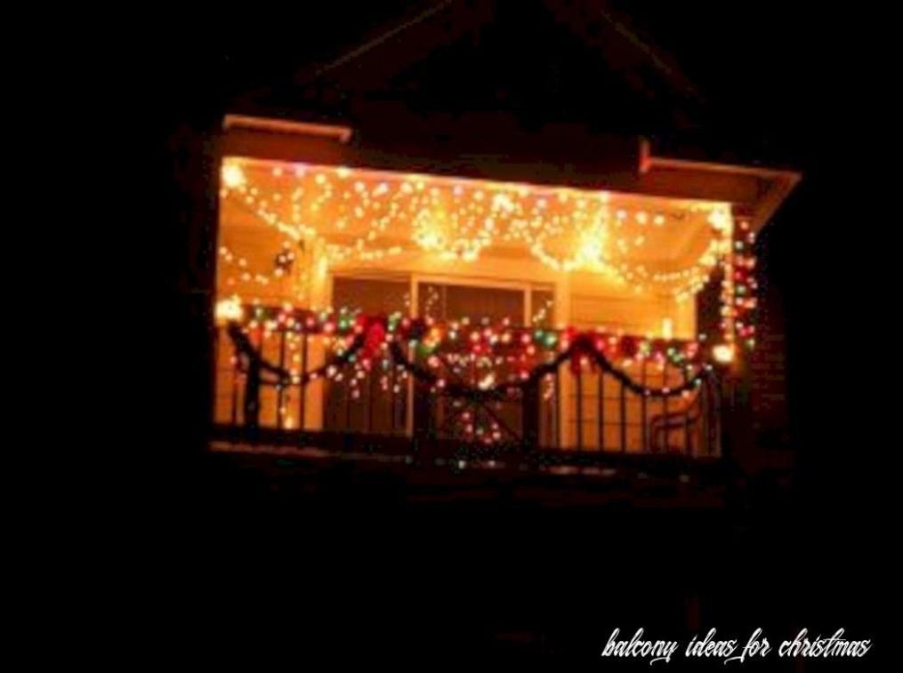 11 Balcony Ideas For Christmas in 11  Christmas decorations  - Apartment Balcony Decorating Ideas Christmas