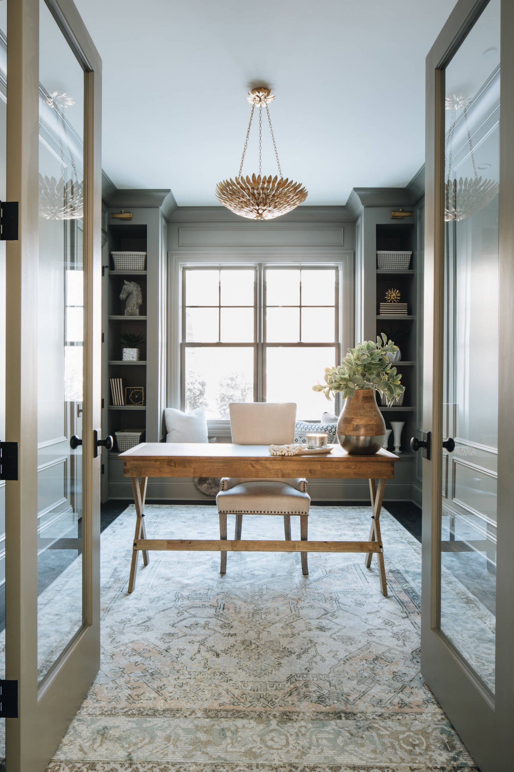 11 Beautiful Home Office Pictures & Ideas November 11  Houzz - Home Office Molding Ideas