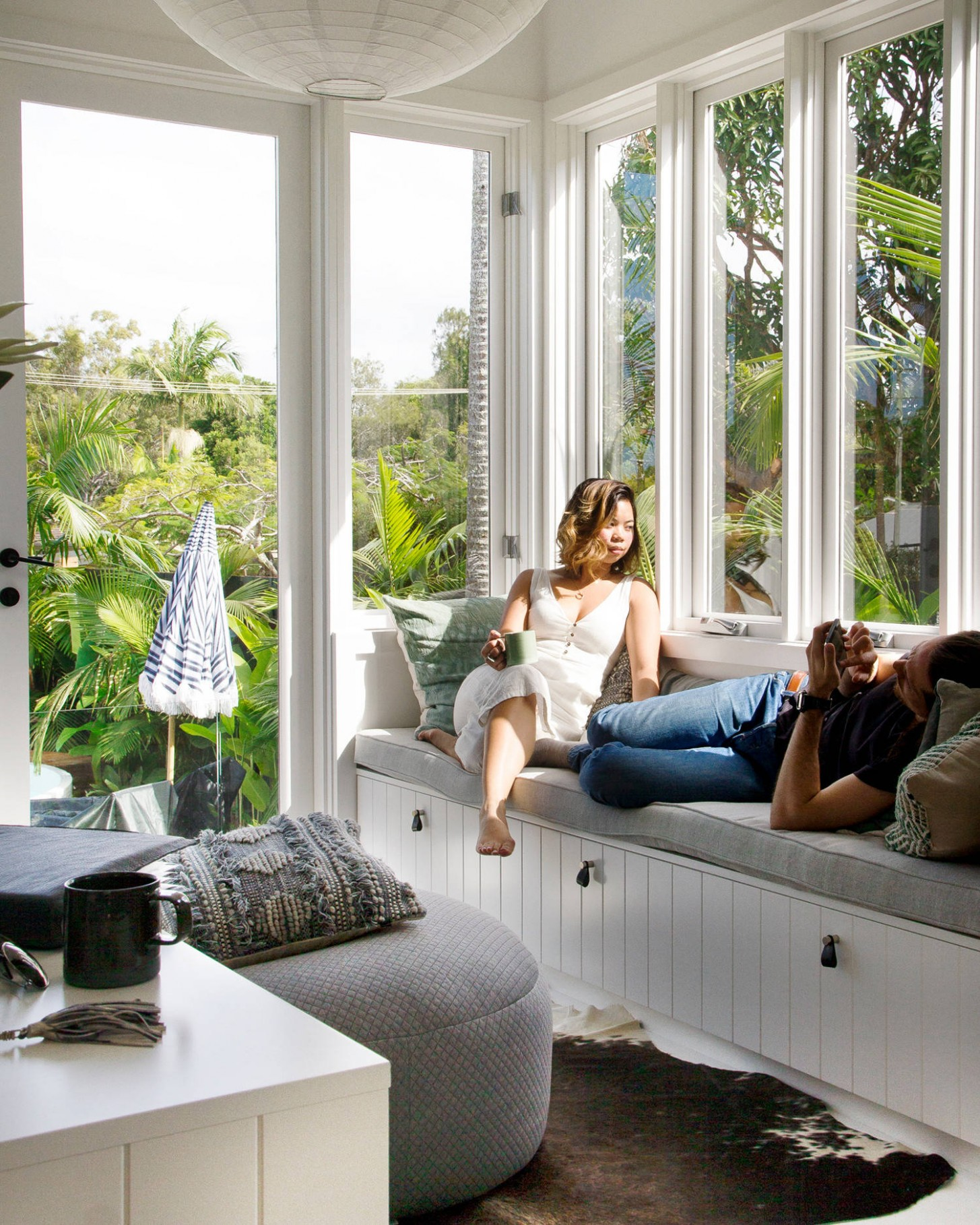 11+ Beautiful Tropical Sunroom Pictures & Ideas November 11  Houzz - Small Sunroom Off Bedroom